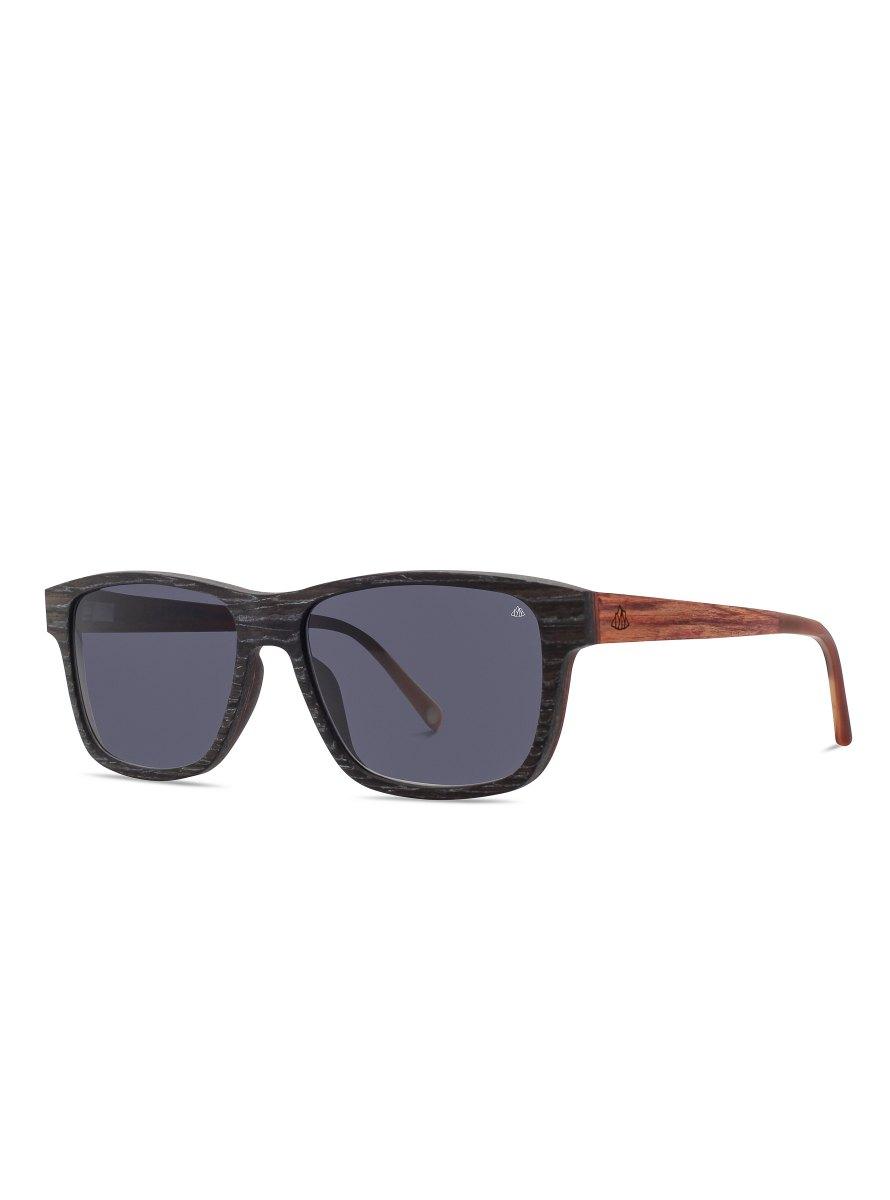 Holz Sonnenbrille Schwarzfahrer Schwarze Aprikose